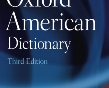 OXFORD UNIVERSITY PRESS AMERICAN DICTIONARY (3RD EDITION)