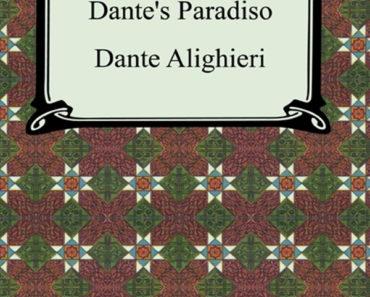 The Divine Comedy, Volume 3: Paradiso