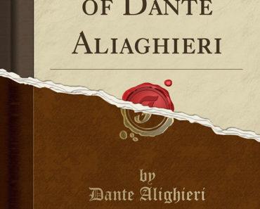 The Convivio of Dante Alighieri