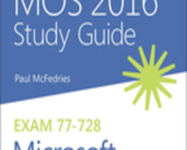MOS 2016 Guide for MS Excel Expert