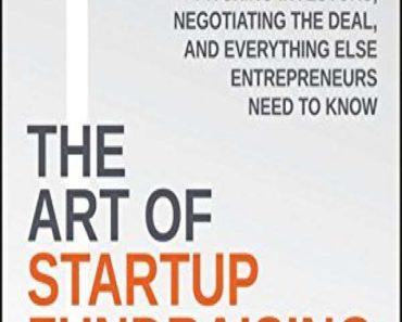 The Art of Start-up Fundraising