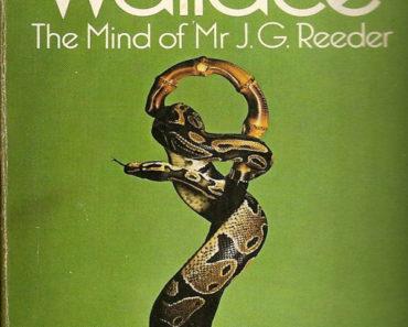 The Mind of Mr. JG Reeder